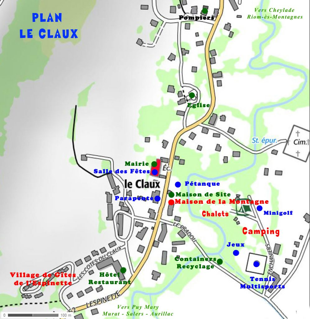 carte le claux