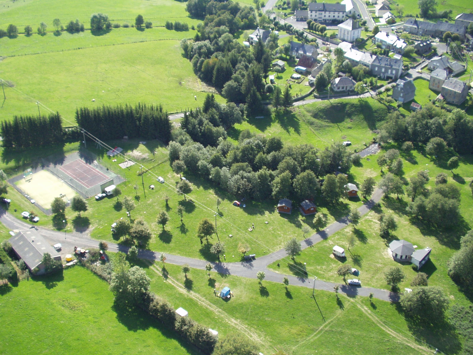 Camping Le Claux Puy Mary